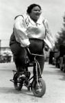 fat bird on bike